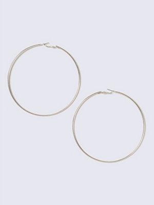 Gina Tricot örhängen Rose Gold Large Hoop Earrings
