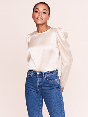 Gina Tricot Rita puff sleeve top