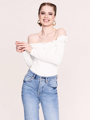 Gina Tricot Sally off shoulder top