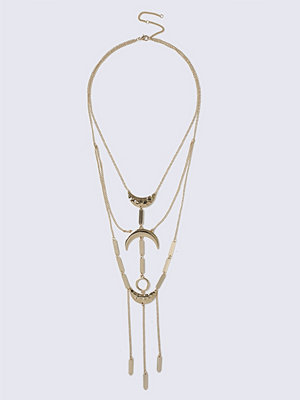 Gina Tricot halsband Gold Curve Chain Necklace