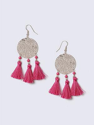 Gina Tricot örhängen Rose Gold Pink Tassel Earrings