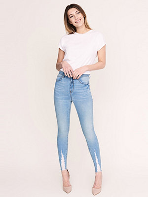 Gina Tricot Gina destroyed jeans