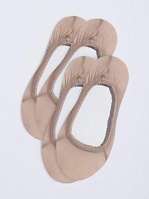 Strumpor - Gina Tricot 2-pack Aurora ballerinasockar