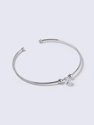 Gina Tricot armband CZ Crystal Drop Bangle