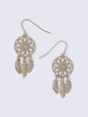 Gina Tricot örhängen Gold Mini Dreamcatcher Earrings