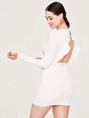 Gina Tricot Petra klänning med öppen rygg