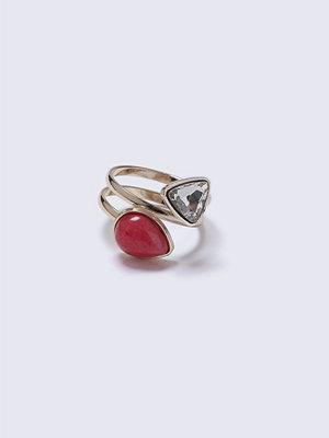 Gina Tricot Gemstone Swirl Ring