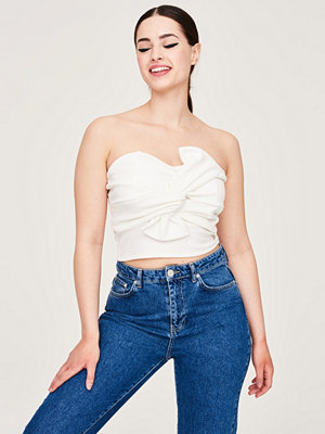 Gina Tricot Bow front bustier