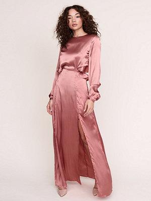 Gina Tricot Ofelia frill maxi dress