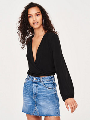 Gina Tricot Elsie wrap top