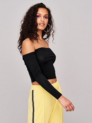 Gina Tricot Bardot crop top