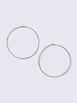 Gina Tricot örhängen Sandblast Hoop Earrings