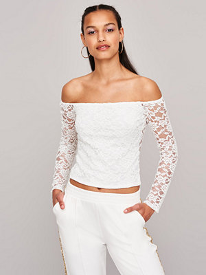 Gina Tricot Sandy lace off shoulder top
