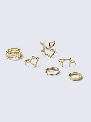 Gina Tricot Kl new geo ring
