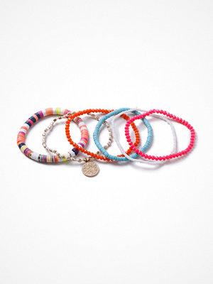 Gina Tricot armband Multi Bright Sequin Stretch Wristwear