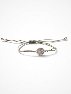 Gina Tricot armband Rhinestone Disc Cord Wristwear