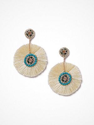 Gina Tricot örhängen Cream Spray Tassel Earrings