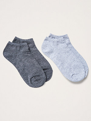 Gina Tricot 2-pack ankelsockar