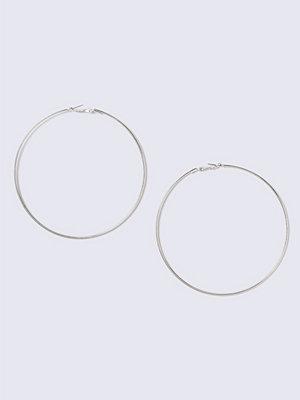 Gina Tricot örhängen Silver Large Hoop Earrings