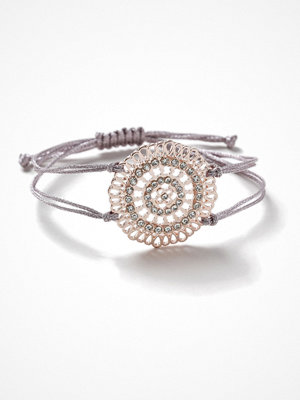 Gina Tricot armband Rose Gold Look Flower Wristwear