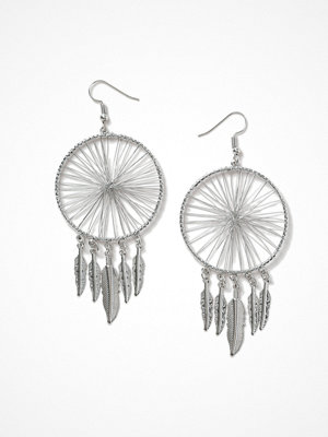 Gina Tricot örhängen Silver Look Dream Catcher Earrings