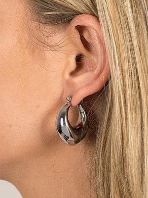 Gina Tricot örhängen Solid Curve Mini Hoops