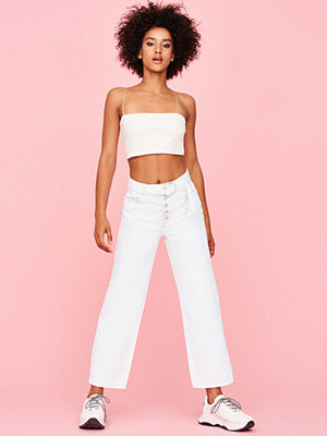 Gina Tricot Ewe belted straight jeans