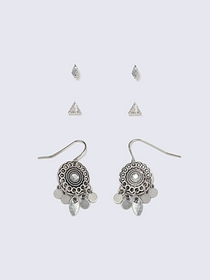 Gina Tricot örhängen Ethnic Trio Pack Earrings