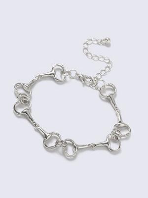 Gina Tricot armband Silver Look horsebit Link Wristwear