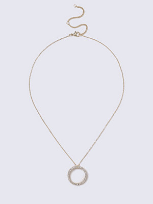 Gina Tricot halsband Gold Look Circle Ditsy Necklace
