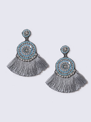Gina Tricot örhängen Turquoise Fringe Tassel Earrings