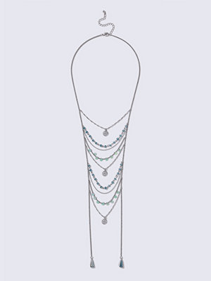 Gina Tricot halsband Bead Ladder Necklace
