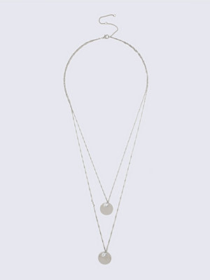 Gina Tricot halsband Crystal Two Row Necklace