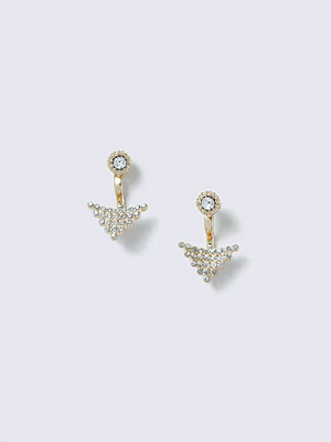 Gina Tricot örhängen Gold Look  Arrow Front & Back Earring