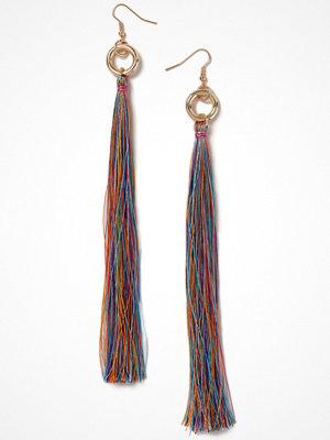 Gina Tricot örhängen Long Multicoloured Tassel Earring