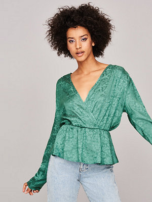 Gina Tricot Leila wrap top