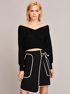 Gina Tricot Clara off shoulder top