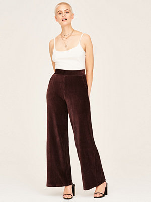 Gina Tricot omönstrade byxor Elise corduroy trousers