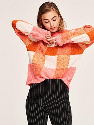 Gina Tricot Rut stickad tröja