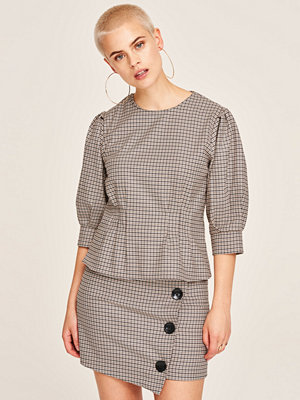 Gina Tricot Lucy checked blouse