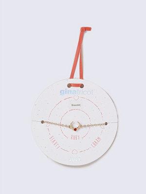 Gina Tricot armband Silver Look January Red Birthstone Wristwear
