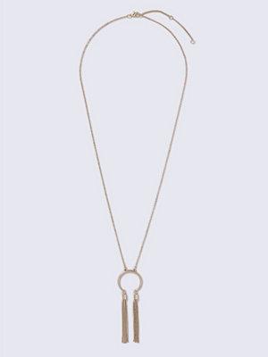 Gina Tricot halsband Half Moon Chain in Gold