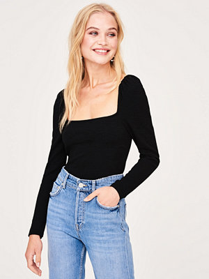 Gina Tricot Leila puff sleeve top