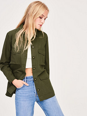 Gina Tricot Violet army jacket