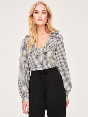 Gina Tricot Tove checked blouse
