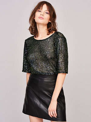 Gina Tricot Flisa sequins top