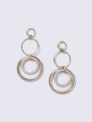 Gina Tricot örhängen Statement Mixed Metal Link Earrings