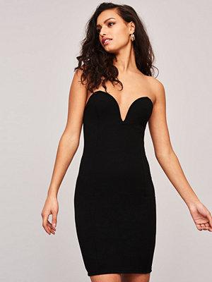 Gina Tricot Deep bustier klänning