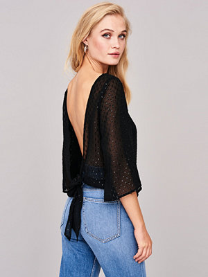 Gina Tricot Siv tie back blouse