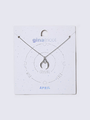 Gina Tricot halsband April Crystal Birthstone Necklace